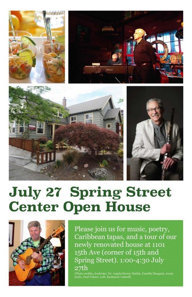 July 27 Open House